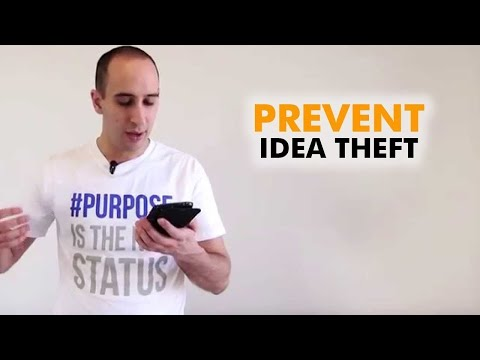Stolen Ideas - How to prevent your idea from being stolen