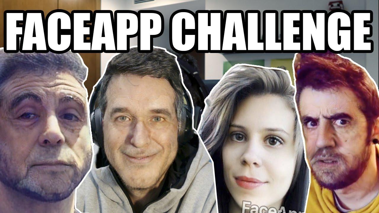 FACEAPP CHALLENGE by Perxitaa