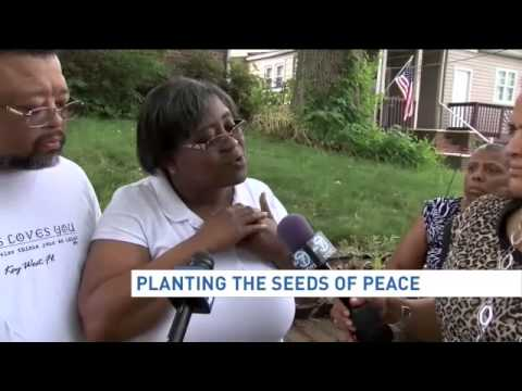 Planting the seeds of peace