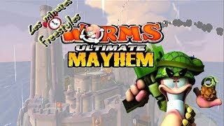 [Les Minutes Freestyles] Worms Ultimate Mayhem - LE MEILLEUR DES WORMS !