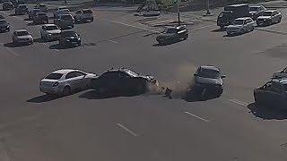 Перекресток проспекта Победы и Шевченко стал наиболее аварийным на этой неделе