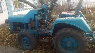 Мини-трактор самодельный