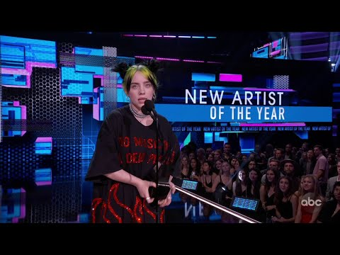 Billie Eilish Wins New Artist Of The Year At The 2019 AMAs - The American Music Awards