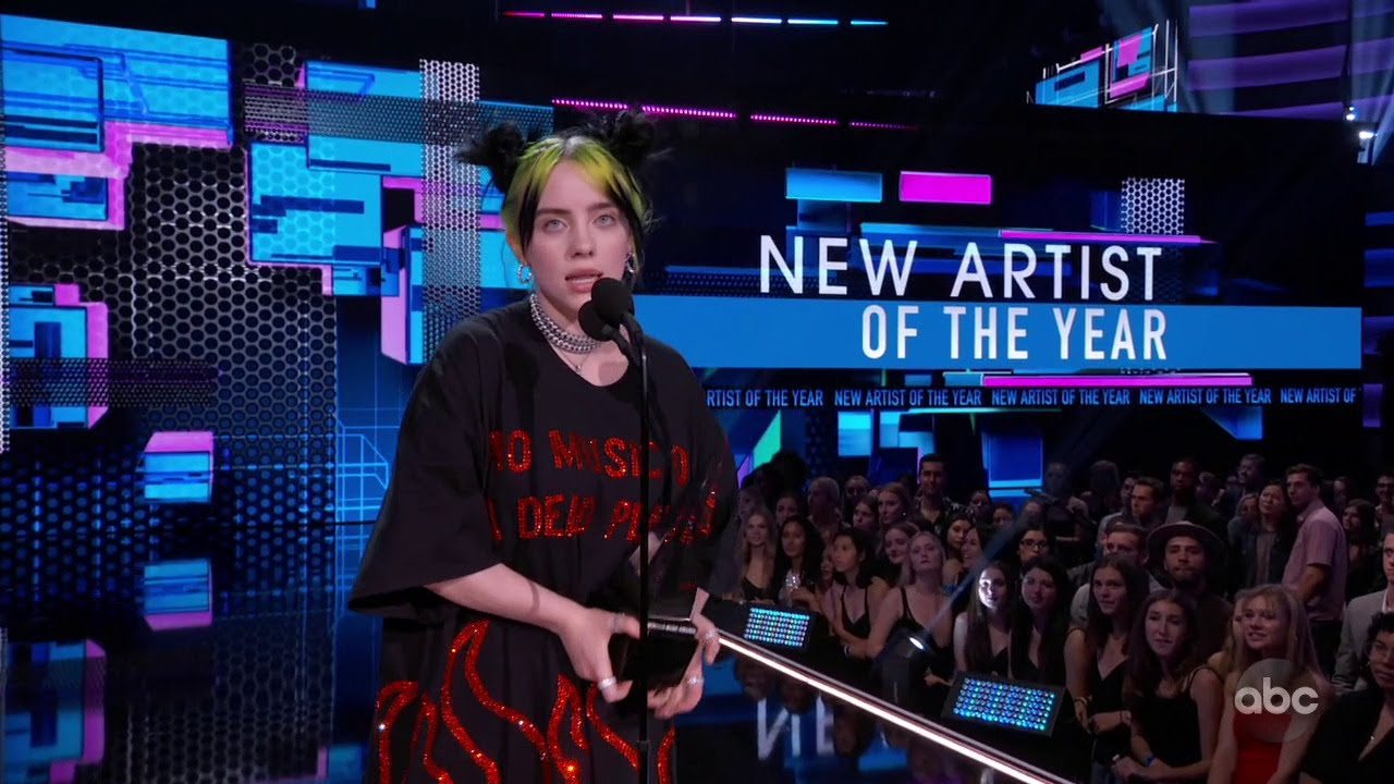 """American Music Awards 2019: Billie Eilish Performs """"All the Good ..."""