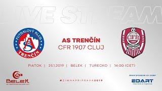 ASTV live: AS Trenčín - CFR 1907 Cluj | Prípravný zápas - Belek
