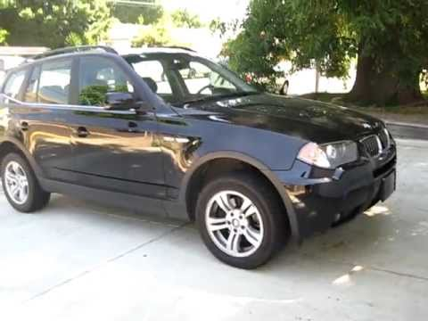 2006 black bmw x3 walkaround youtube. Black Bedroom Furniture Sets. Home Design Ideas