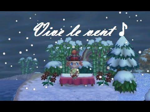 animal crossing new leaf 15 vive le vent d 39 hiver youtube. Black Bedroom Furniture Sets. Home Design Ideas