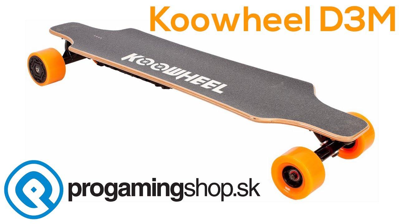 c5edeb813bd5 Koowheel Kooboard D3M v2 elektromos skateboard 2x 4300 mAh akkumulátorral