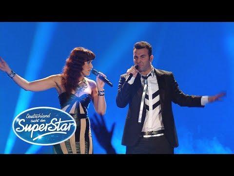 "Joe Cocker&Jennifer Warnes-""Up Where We Belong"" - Erica Greenfield - DSDS 2015"
