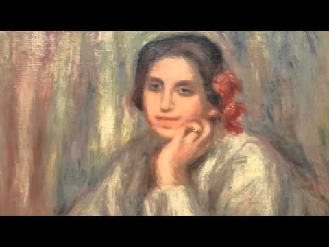 Renoir Monet Lautrec Boudin paintings museo Botero Bogota Colombia