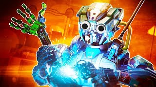 I Rip Off And Upgrade My Robot Arms With Gun In Stormland Vr