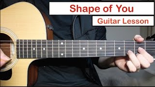 Ed Sheeran - Shape of You | Guitar Lesson (Tutorial) How to play Chords Mp3