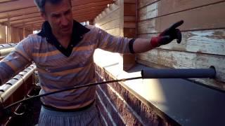 Промывка канализации Керхером .Hydrodynamics cleaning drains
