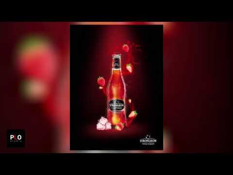 Photoshop | Poster Design StrongBow  | PLO Studio