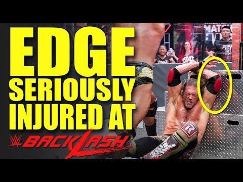 MOST INSANE W.T.F MATCH EVER! EDGE INJURED AT WWE BACKLASH 2020! Wrestling News