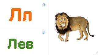 Живой алфавит. Учим буквы с животными. Развивающий мультфильм для детей. TopicRu