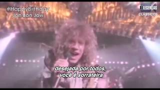 bon jovi you give love a bad name legendado traduo official video