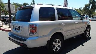 2006 Honda Pilot EX-L 4X4 SUV Overview and walk around review.