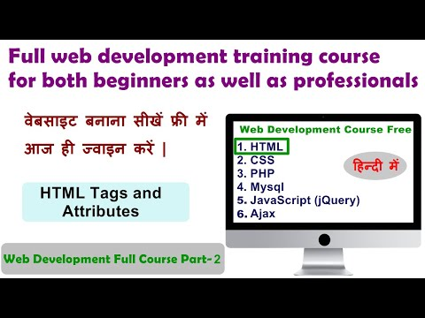 HTML Basics - Tags & Attributes | How Website Work | Web Development Course Part-2 | Aditya Gangwar