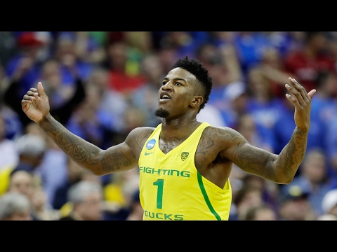 Highlights: Oregon men's basketball survives Michigan in thriller, advances to Elite 8 for second...