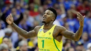 Highlights: Oregon men's basketball survives Michigan in thriller, advances to Elite 8 for second...