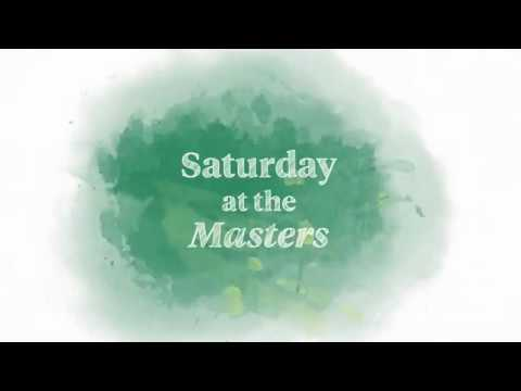 Welcome to Saturday at the Masters