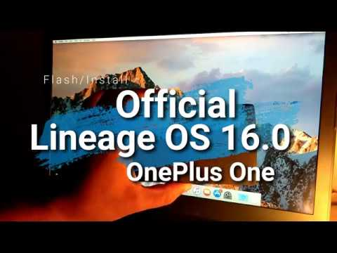 Official | Lineage OS 16 0 | OnePlus One | Android Pie 9 0 | March 2019 |