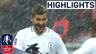 Llorente Hat-trick Sees Spurs Through  Tottenham 6-1 Rochdale  Emirates FA Cup 201718