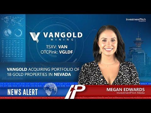 Vangold Acquiring Portfolio Of 18 Gold Properties In Nevada