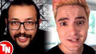 Cauê Moura detona Luccas Neto, Felipe Neto volta a reclamar do Youtube Brasil
