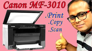 Canon Laser Printer Image CLASS MF3010 3110 3000 Full Review