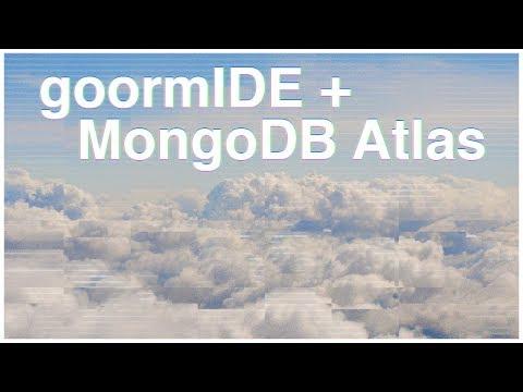 goormIDE + MongoDB Atlas = c9.io alternative