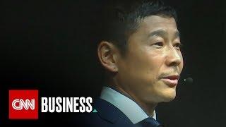 Yusaku Maezawa: Meet SpaceX's first moon tourist
