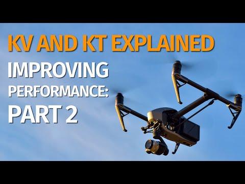 Improving motor and propeller performance: Kt and Kv (aside 1)