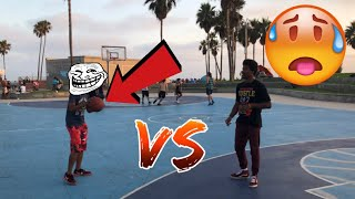 1 VS 1 AT VENICE BEACH GONE WRONG!!!