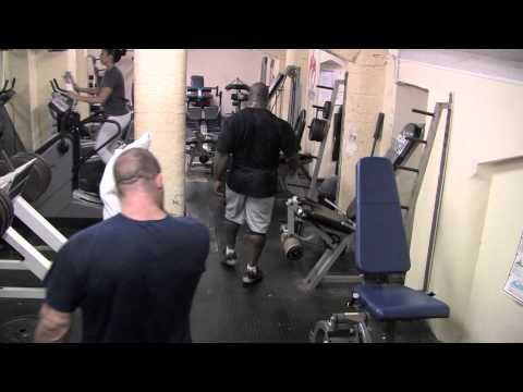 Dorian Yates and Chris Cormier/Directors cut/ extra 10 minutes of unseen footage
