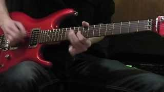 Axe FX II & Ibanez JS-1200 Joe Satriani signature guitar - Timmons Style guitar solo