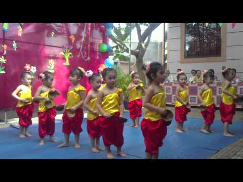 điệu múa gáo dừa khmer