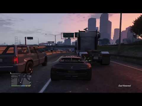 GTA 5 Sport Car Freeplay/Gameplay/Free Ride HD #12 Grand Theft Auto 5