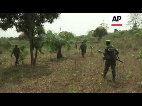 Rwandan peacekeepers in tense patrol north of the capital