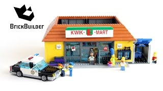Lego Simpsons 71016 The Kwik-E-Mart - Lego Speed Build