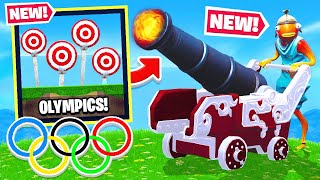 CANNON OLYMPICS *NEW* Game Modes in Fortnite Battle Royale thumbnail