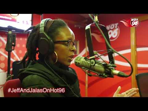 @Jahmbeekoikai message to women reps in Kenya #JeffAndJalasOnHot96
