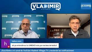 Vladimir a la Caŗta con Carlos Ocariz, candidato a Gob . del Edo Miranda