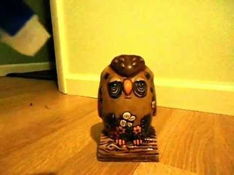how to clean ugly owl bank