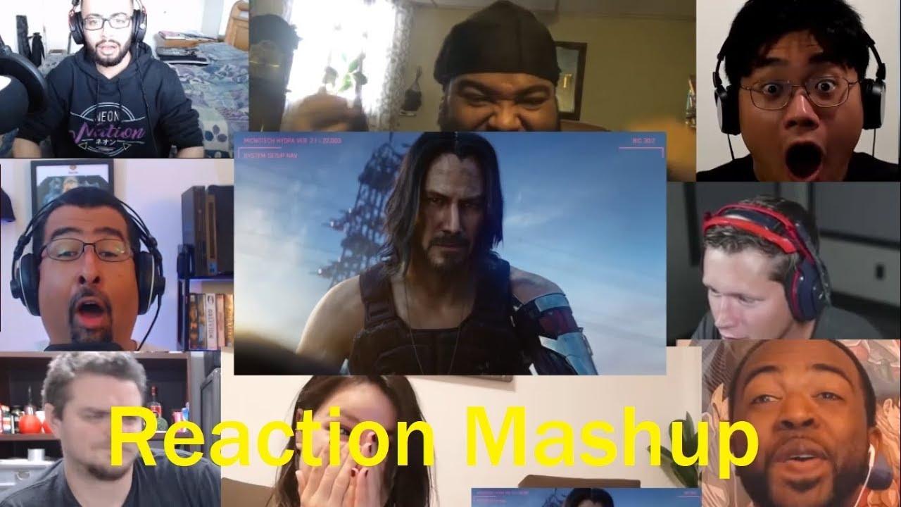 Cyberpunk 2077 E3 2019 Trailer REACTIONS MASHUP