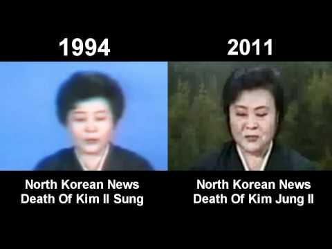 Kim Jong Il Dead - Death Announcement