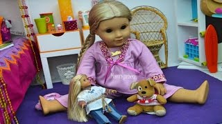 American Girl Doll ~ Setting up Julies