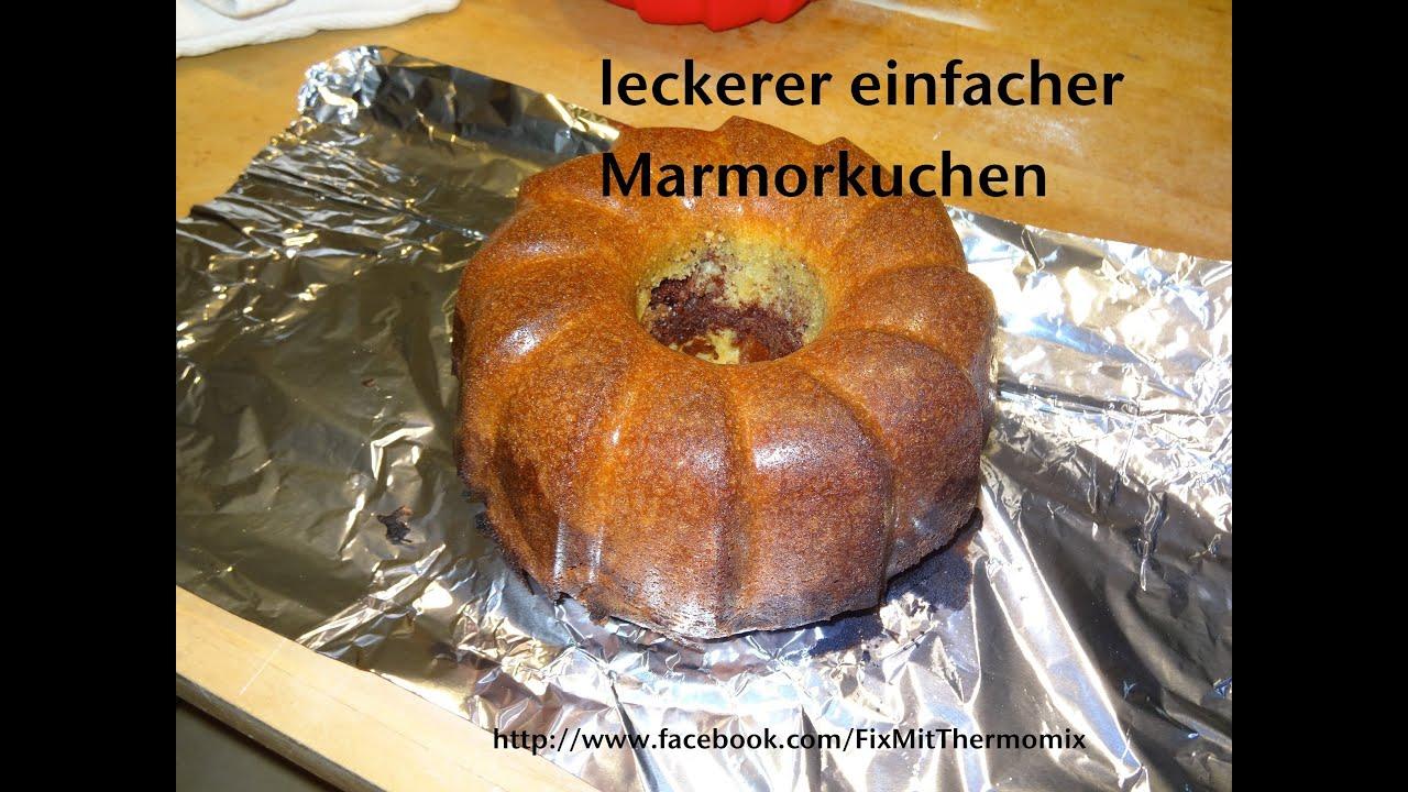 Leckerer Einfacher Marmorkuchen Aus Dem Vorwerk Thermomix Tm 31