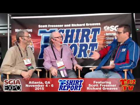 T-Shirt Report SGIA 2015 - Interview with Michael Kaminski Sublimation 101